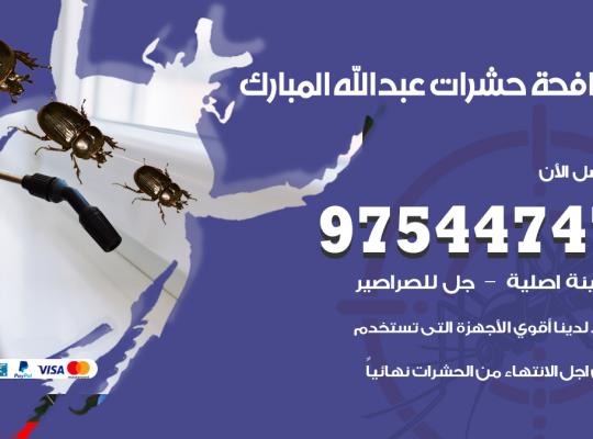 مكافحة حشرات وقوارض عبدالله مبارك