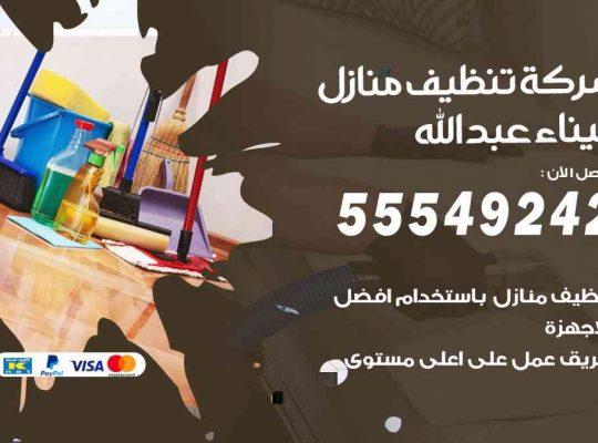 أفضل شركة تنظيف ميناء عبدالله